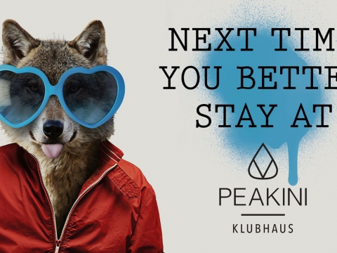 Stay at Peakini Klubhaus
